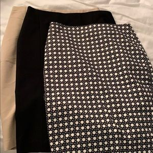 Ann Taylor pencil shirt pack